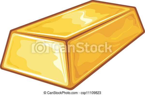 Gold Bullion - csp11109823