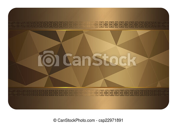 Gold business card template gold background with geometric patterns gold business card template gold background with geometric patterns for the design of your business card colourmoves