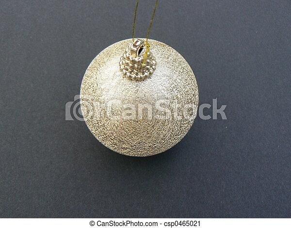 gold christmas ball - csp0465021