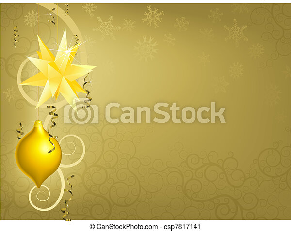 Christmas ornament christmas decoration wreath clip art gold