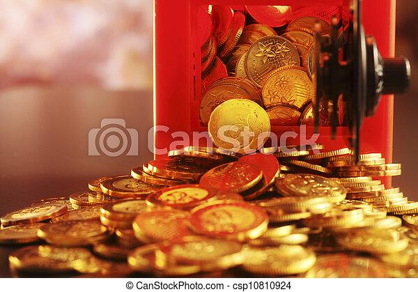 gold coin - csp10810924