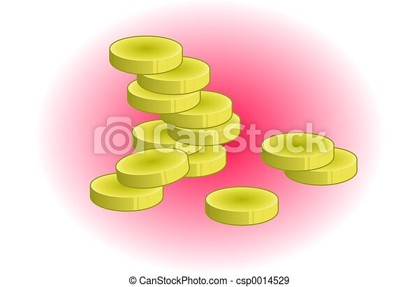 Gold Coins - csp0014529