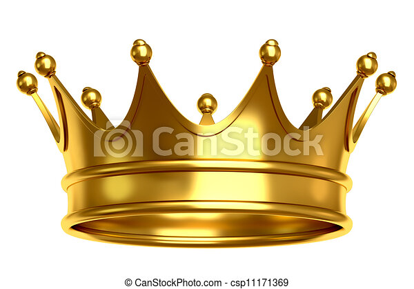 Gold crown - csp11171369