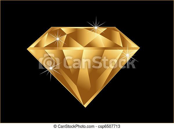 Gold Diamond - csp6507713