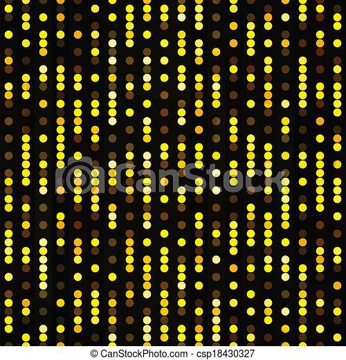 gold dots seamless pattern - csp18430327