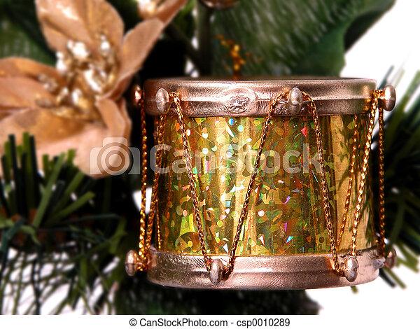 Gold Foil Drum - csp0010289