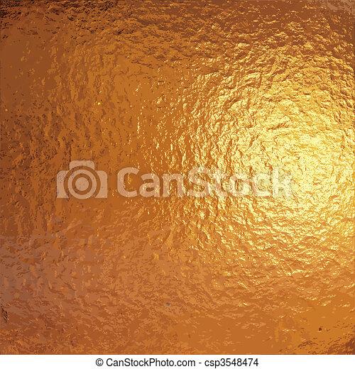 gold foil - csp3548474