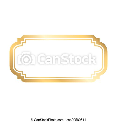Gold frame simple white. Gold frame. beautiful simple golden design ...