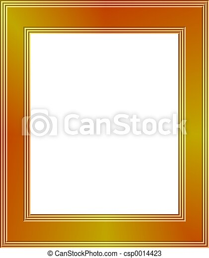 Gold Frame - csp0014423