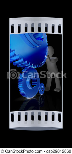 3d Man Holding A Gold Trophy Cup Stock Illustration - Illustration of  champion, shiny: 34925671