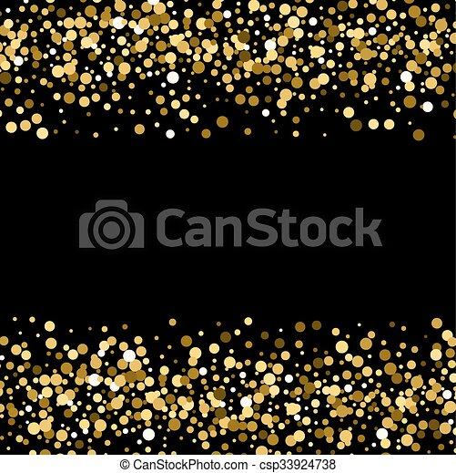 black and gold glitter background vector impremedianet