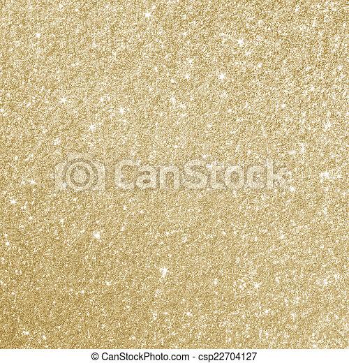 Gold Glitter Background Texture - csp22704127