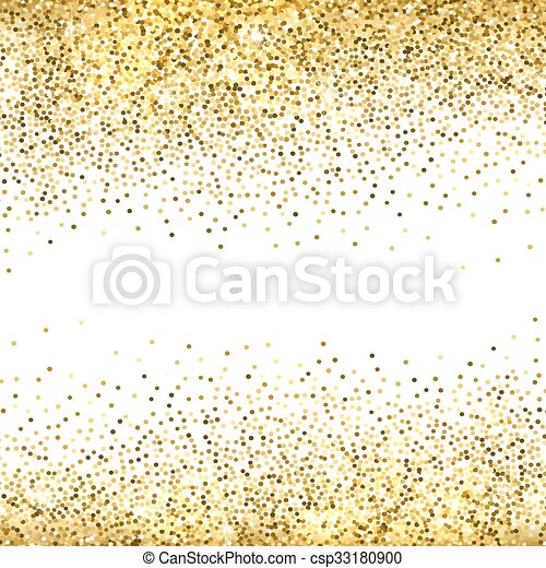 Gold Glitter Background.   Csp33180900