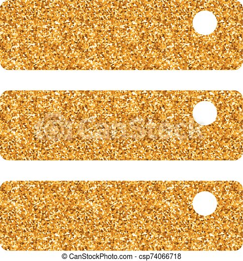 Gold Glitter Icon Database Database Icon In Gold Glitter Texture Sparkle Luxury Style Vector Illustration Canstock