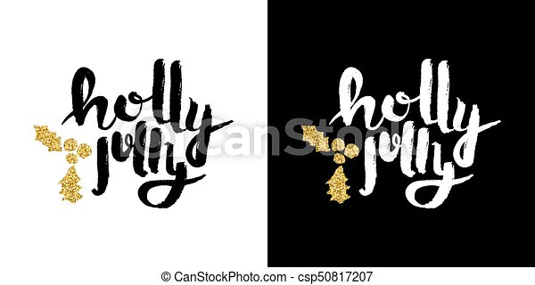 Gold glitter merry christmas quote greeting card gold merry gold glitter merry christmas quote greeting card csp50817207 m4hsunfo