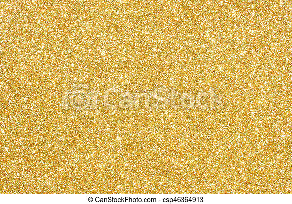 gold glitter texture abstract background - csp46364913