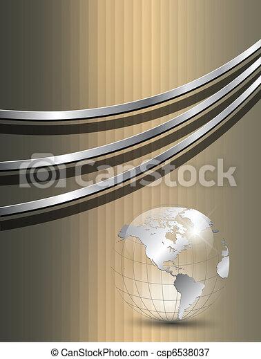Gold Hintergrund - csp6538037