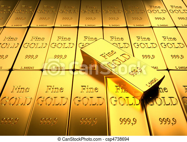 Gold Ingot - csp4738694