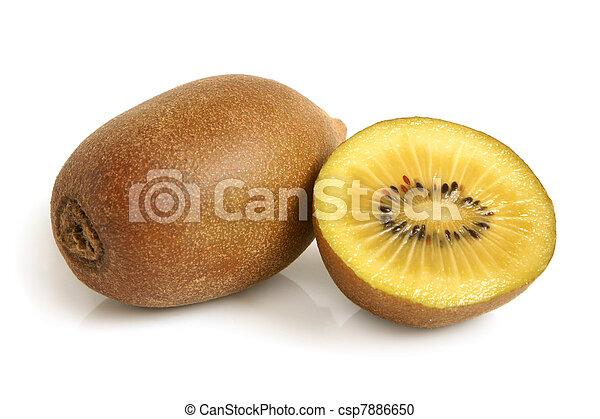 Gold kiwi fruit - csp7886650