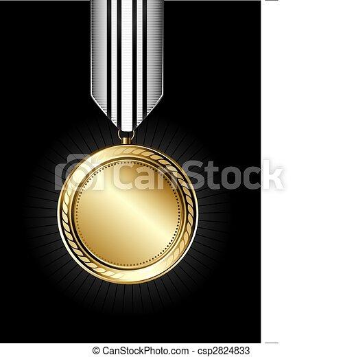 Gold Medal - csp2824833