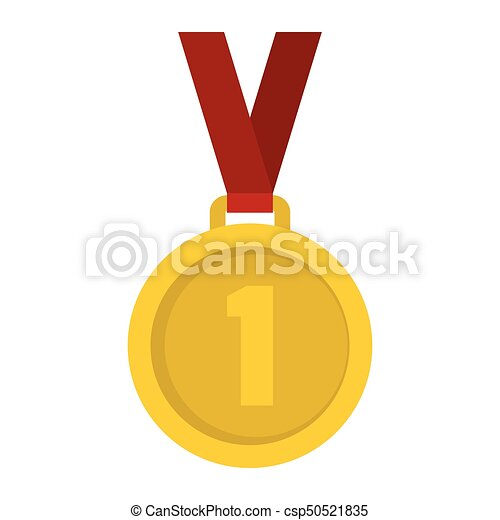 gold medal isolated on a white background gold medal for vectors rh canstockphoto com gold medal clipart black and white olympic gold medal clipart