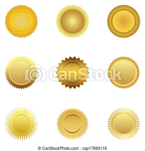 Gold medal - csp17693116