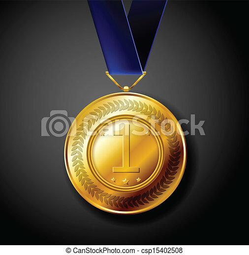 Gold medal - csp15402508