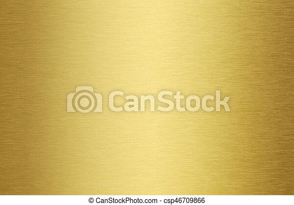 gold metal texture - csp46709866