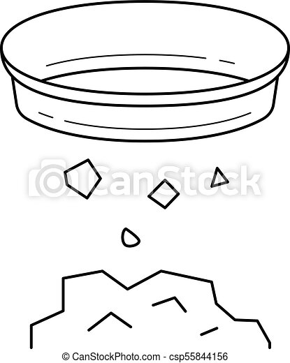 Gold Mining Vector Line Icon Isolated Rh Canstockphoto Com Mine