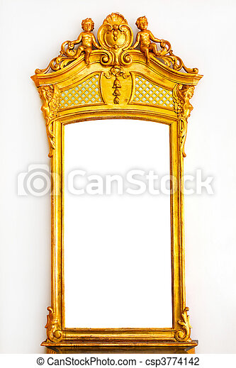 Gold mirror - csp3774142