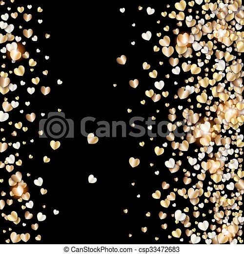 gold muster vektor schwarzer hintergrund herzen gold vektor suche clipart. Black Bedroom Furniture Sets. Home Design Ideas
