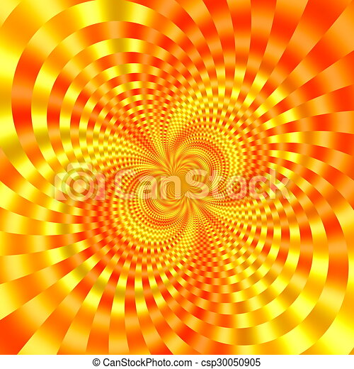 Gold orange background image. - csp30050905