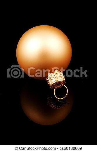 Gold Ornament - csp0138669