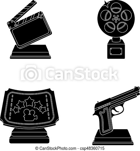 Gold Pistol Silver Prize For The Best Supporting Role And Other