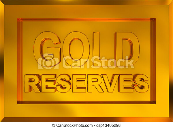 gold reserves - csp13405298