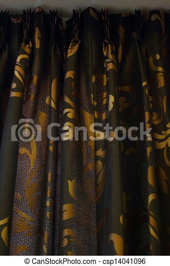 gold schwarz luxus hintergrund vorhang. Black Bedroom Furniture Sets. Home Design Ideas