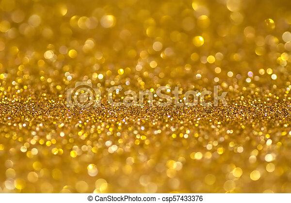 672ce0e593e Gold sequins shine bright. yellow powder. glitter and bokeh lights ...