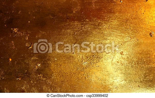 Gold texture - csp33999402