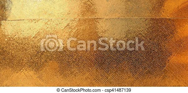 gold texture - csp41487139
