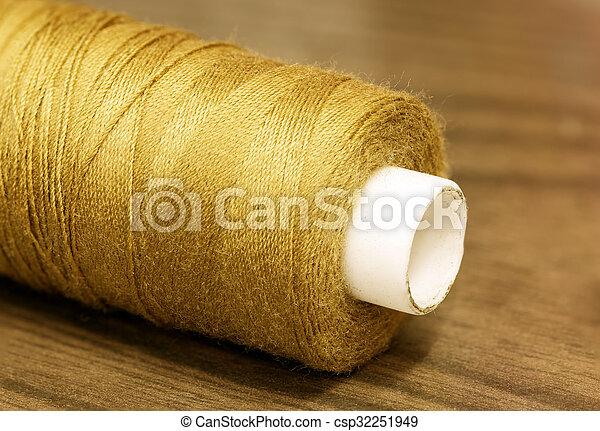 Gold Thread, sepia tone - csp32251949