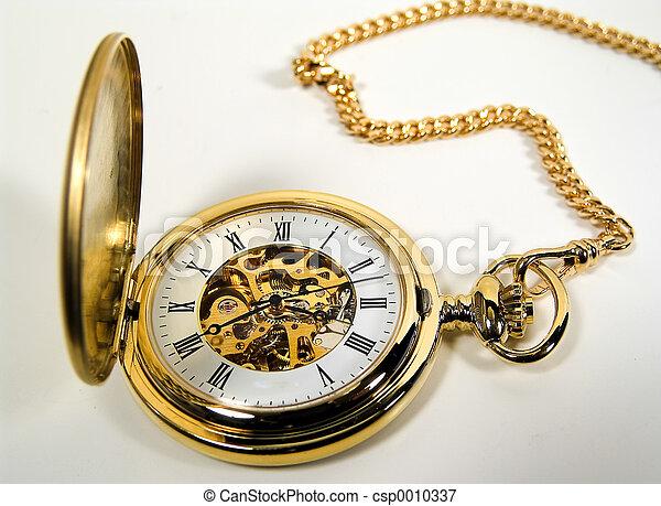 Gold Watch - csp0010337