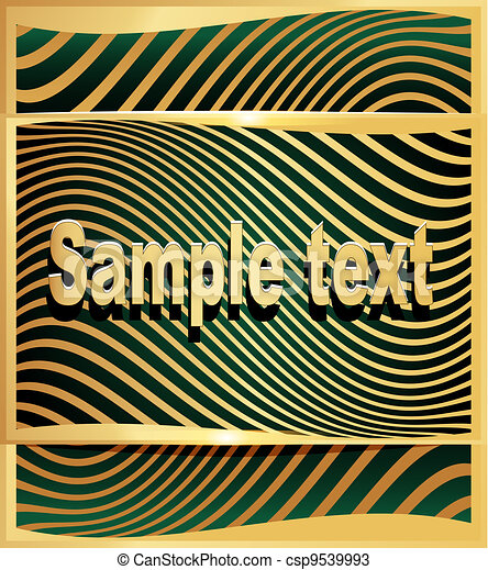 gold(en), תקציר, דוגמה, קרזל, רקע ירוק, טכנולוגיות - csp9539993