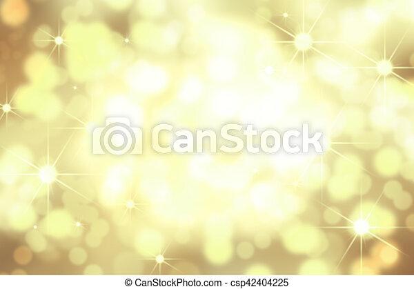 Golden Background 1 - csp42404225