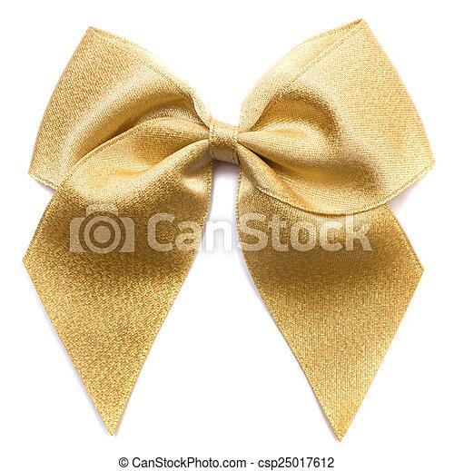 Golden bow - csp25017612