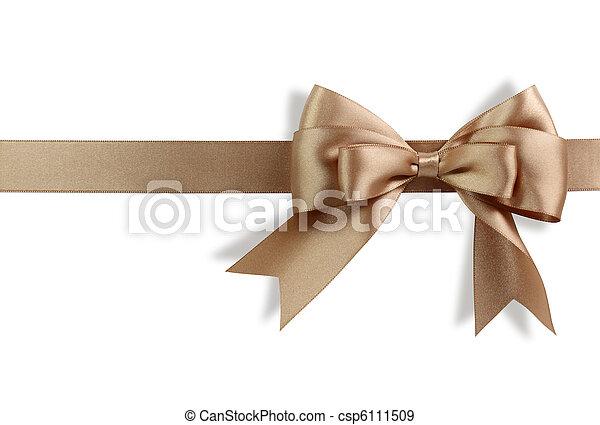 Golden bow - csp6111509