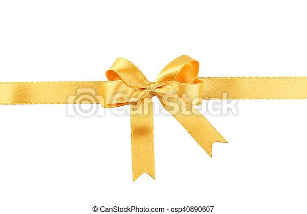 Golden bow - csp40890607