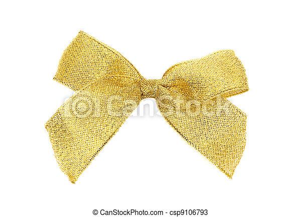 Golden bow - csp9106793