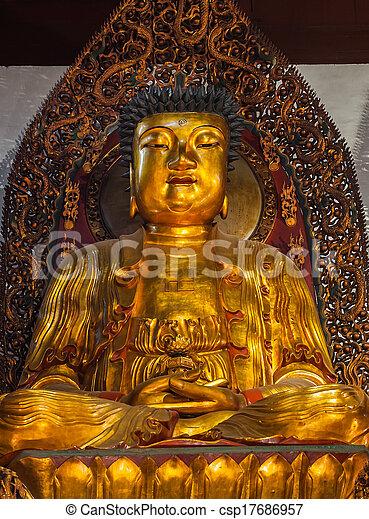 Golden Buddha - csp17686957
