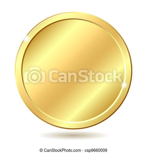 golden coin - csp9660009