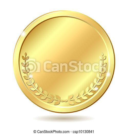 golden coin - csp10130841